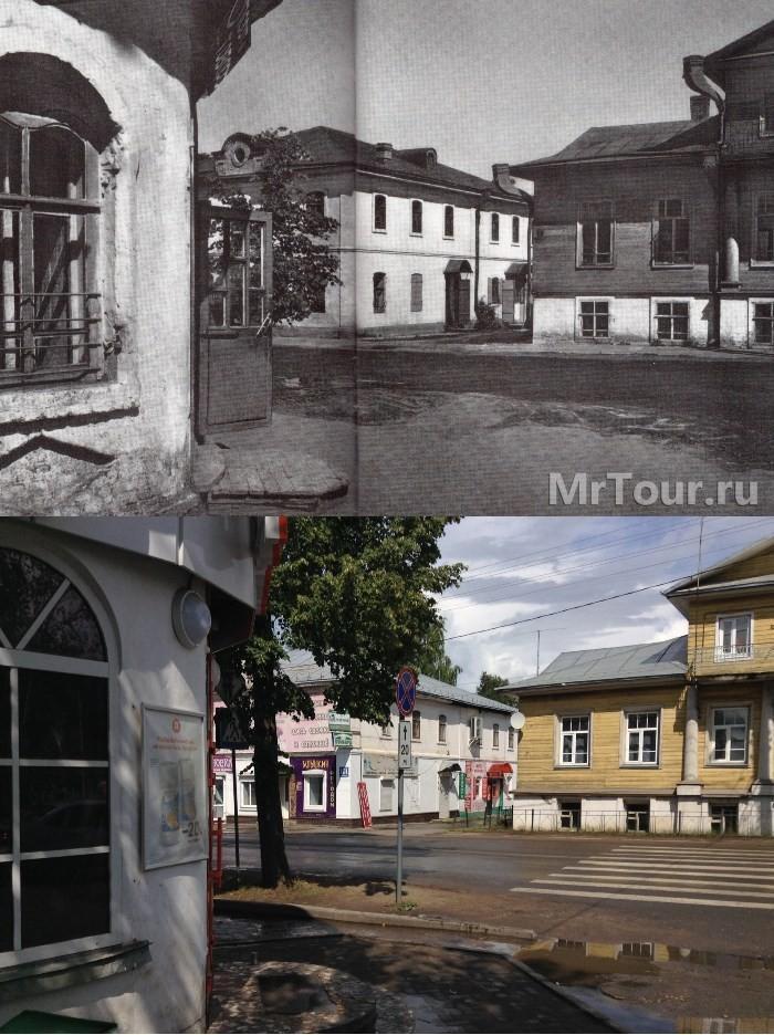 Старые и новые фото Великого Устюга