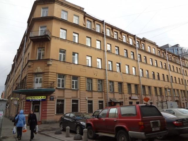 Дом в Петербурге, построенный по проекту архитектора Оскара Иосифовича Тибо-Бриньоля